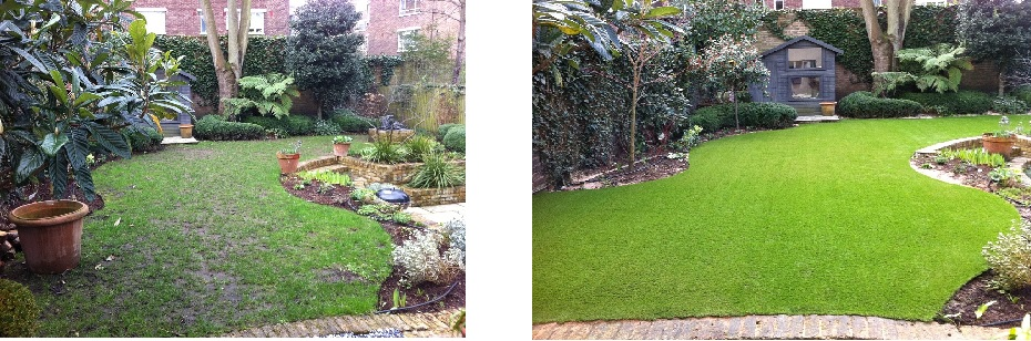 Guest blog the artificial grass debate for Garden design ideas for medium gardens