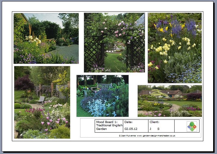 Garden Design Mood Board excitement builds