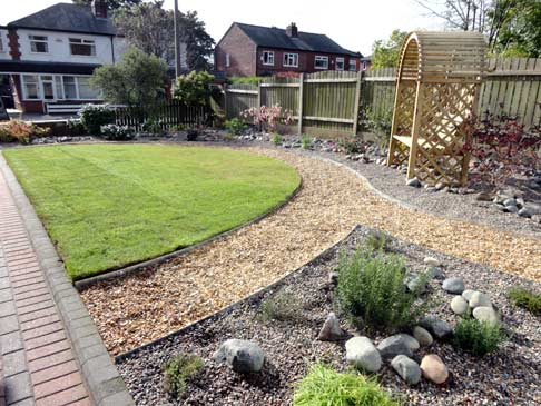 Nice The Initial Garden Design Layout